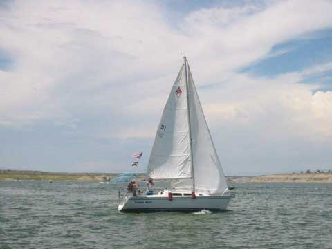 Catalina 270LE, 1993 sailboat