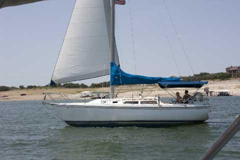 Catalina 30 Mk II, 1988 sailboat