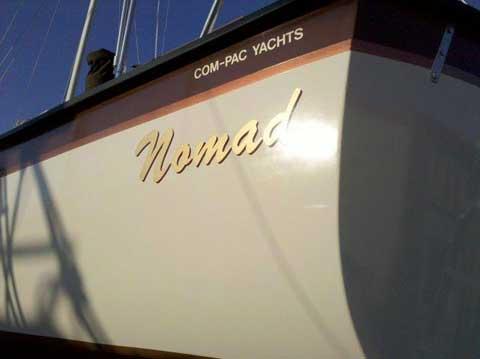 Compac 27/2, 1986 sailboat