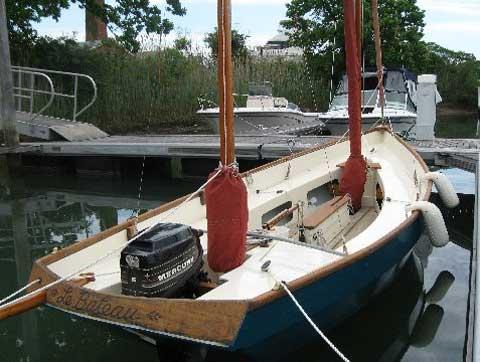 Drascombe Lugger, 1970 sailboat