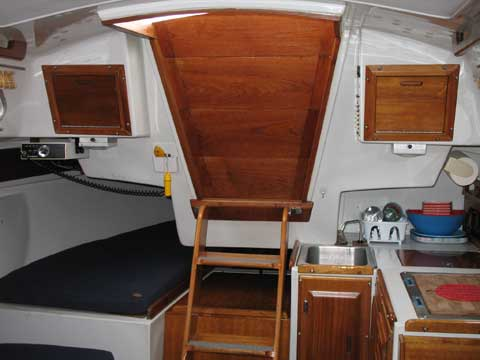 Ericson 27 1977 Bayfield Wisconsin Sailboat For Sale