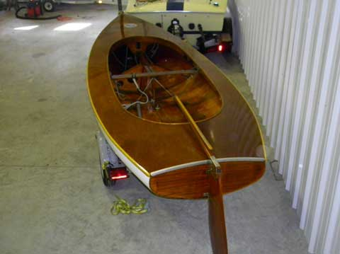 Finn, Holland Built, 15', 1956 sailboat
