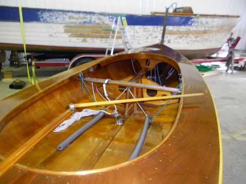Finn, Holland Built, 15', 1956 sailboat