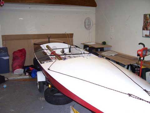 Fireball, 16', 1972/2010 sailboat