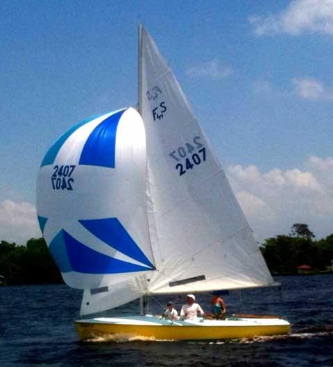 Flying Scot, 1973 sailboat