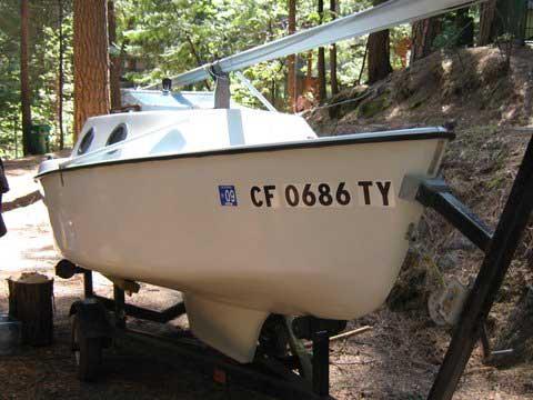 Guppy 13, 1976 sailboat