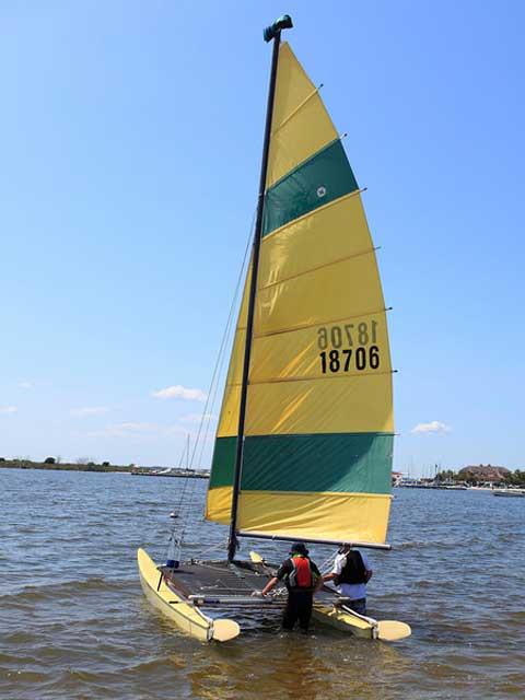 Hobie 16', 1970s sailboat