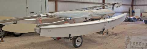 Hobie 16, 1980s sailboat