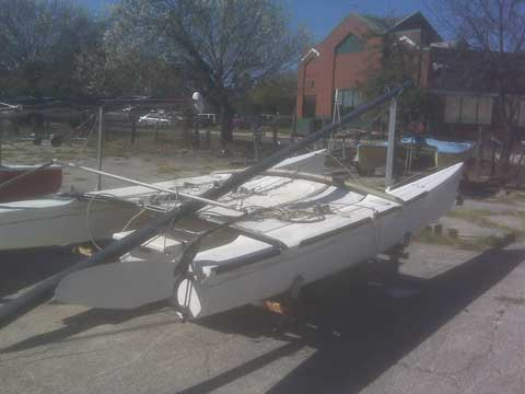 Hobie 18, Catamaran, 1981 sailboat