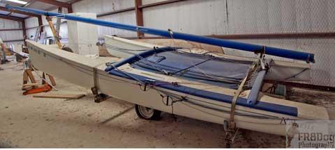 Hobie 18, 1980s sailboat