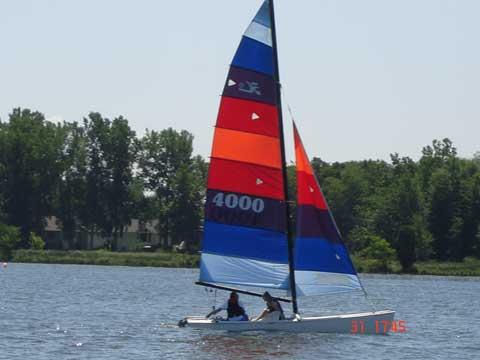 Hobie 18 ft Catamaran, 1980 sailboat