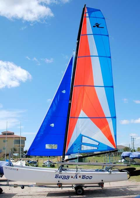 Hobie 18-SX, 1990 sailboat