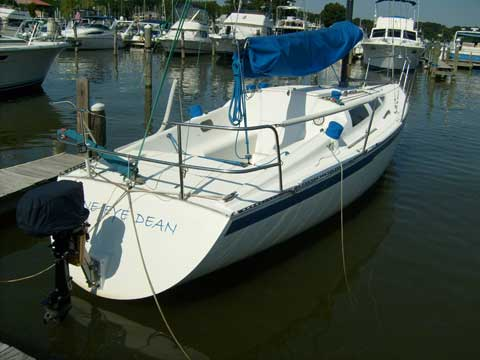 Hobie 33 1984 Baltimore Maryland Sailboat For Sale From