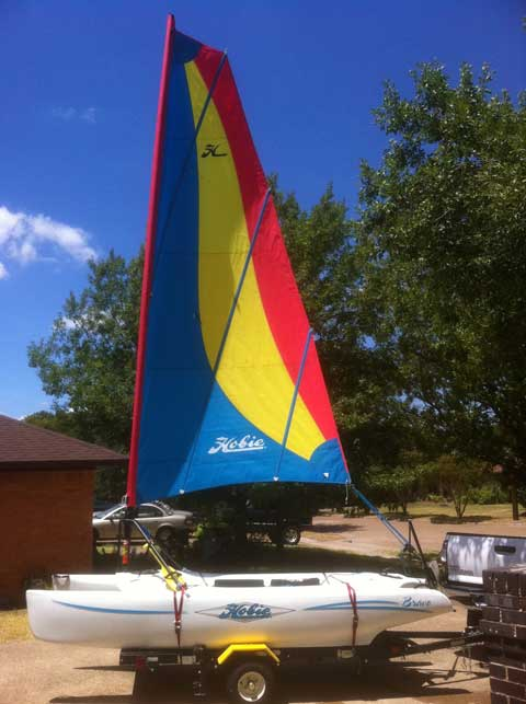 Hobie Bravo 12', 2006 sailboat