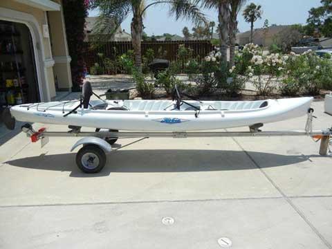 Hobie Mirage Tandem kayak, 2006 sailboat