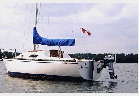 Hunter 22, 1982 sailboat