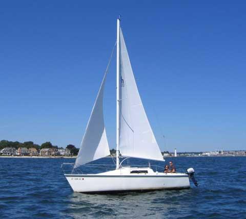 Hunter 23 1985 Ellington Connecticut Sailboat For Sale