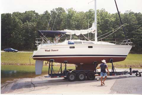 Hunter 33.5 #102 sailboat