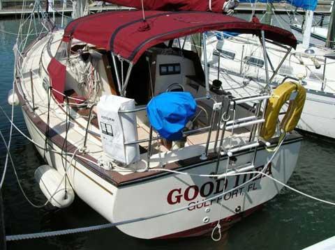 Island Packet, 1988 sailboat
