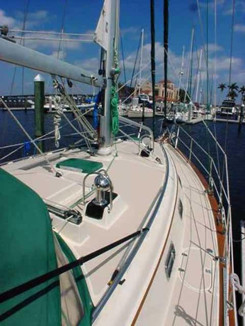 Island Packet 380 sailboat