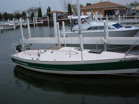 J24, 1982 sailboat