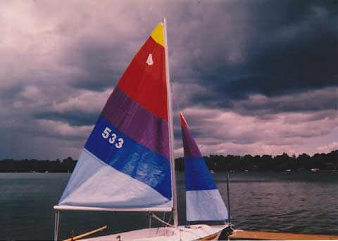 Johnson 16, 1988 sailboat