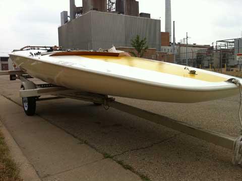 Johnson M20 Scow, 1980 sailboat