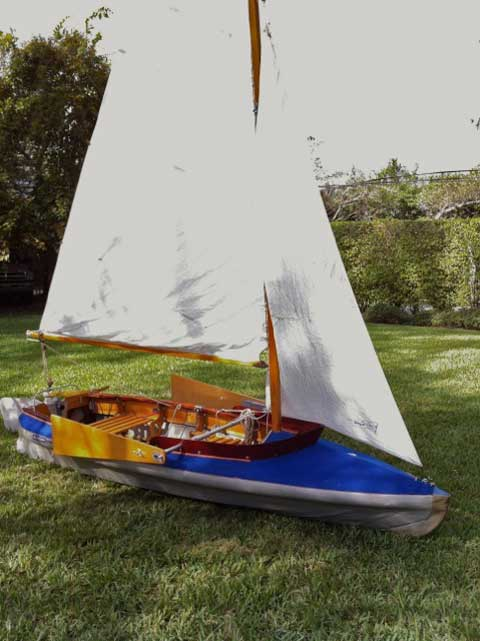Klepper master, 1960's sailboat