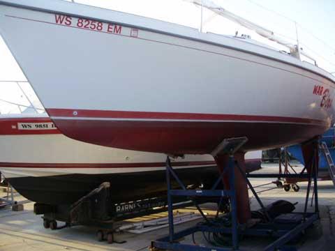 Laser 28, 1985 sailboat