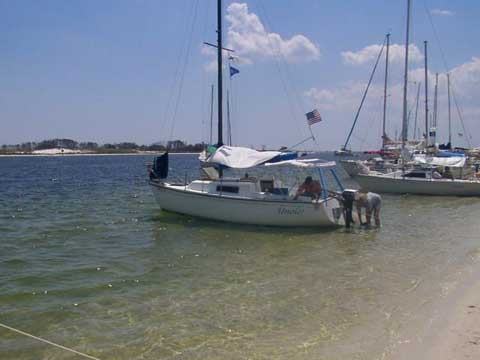 Lindsey Mighty Mite, 21', 1972 sailboat