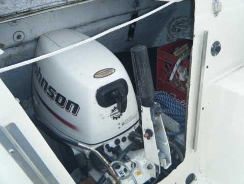 Luger 257PH Motor Sailer, 2004 sailboat