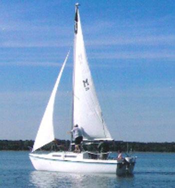 MacGregor 25, 1980 sailboat