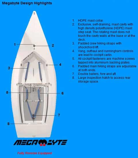 Megabyte 14, Performance Sailcraft, 2000 sailboat
