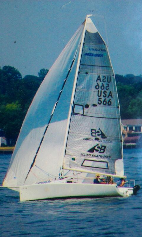Melges 24, 1993 sailboat
