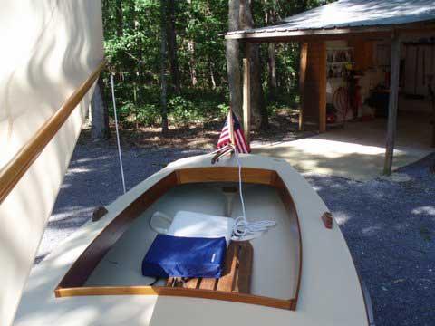 Crawford Melonseed Skiff, 2011 sailboat