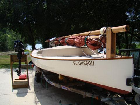 Menger Catboat, 2003 sailboat