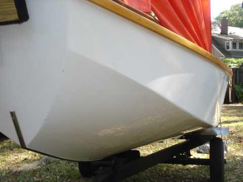 Mirror Dinghy sailboat