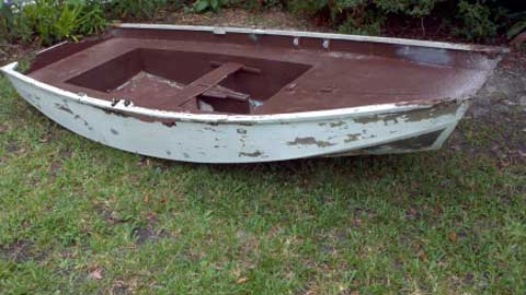 Mirror Sailing Dinghy sailboat