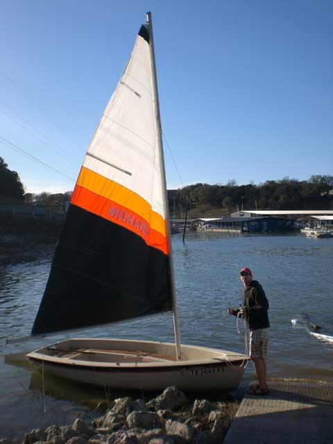 Monark 14', 1982 sailboat
