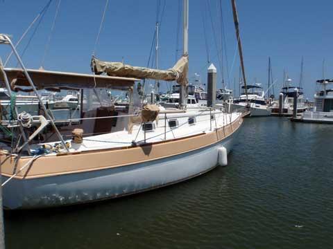 Morgan 37, Out Island MK II, sloop, 1977 sailboat
