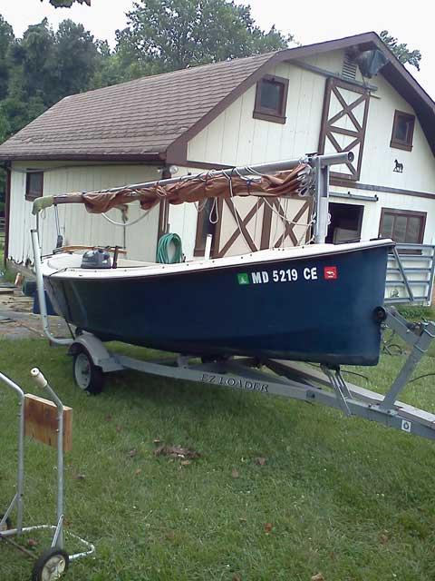 Mud Hen 17, 1986 sailboat