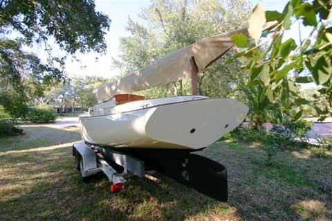 Legnos Mystic 20 Cat Boat 1977 Tampa Florida Sailboat