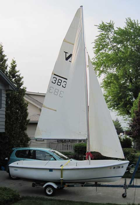 American Neptune, 14', 1973 sailboat