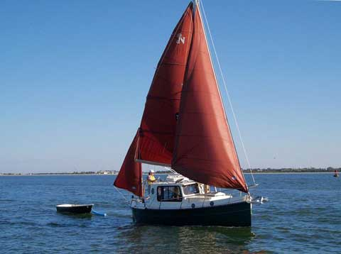 Nimble Kodiak Yawl, 26ft., 1995 sailboat