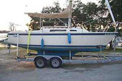 O Day 23 1982 Canyon Lake Texas Sailboat For Sale From