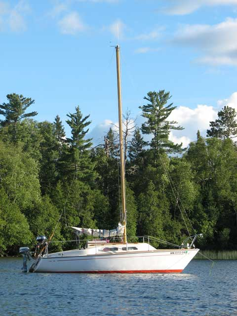 Paceship Py23 1974 Duluth Minnesota Sailboat For Sale