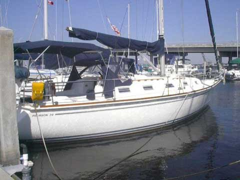 Pearson 39 1989 Tampa Bay Florida Sailboat For Sale