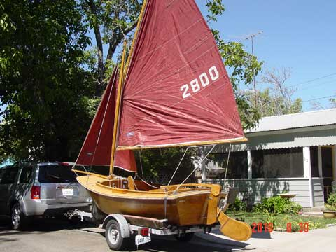 Pelican 12 sailboat