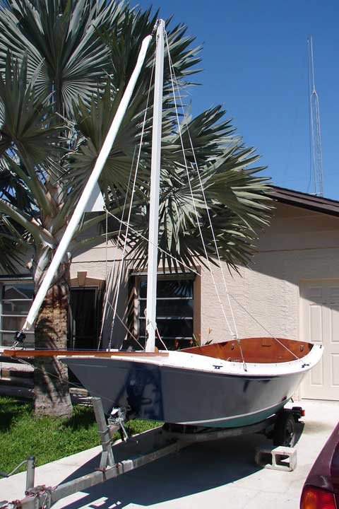 San Francisco Bay Pelican, 12', 2011 sailboat