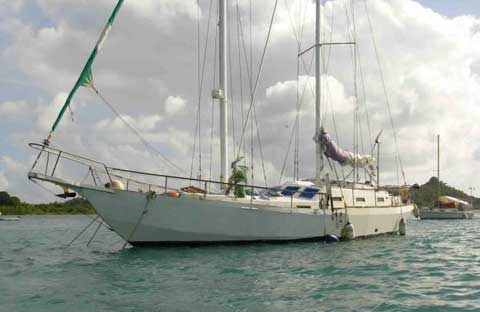 Steel Schooner, by Pool corp, 56', 1980 sailboat